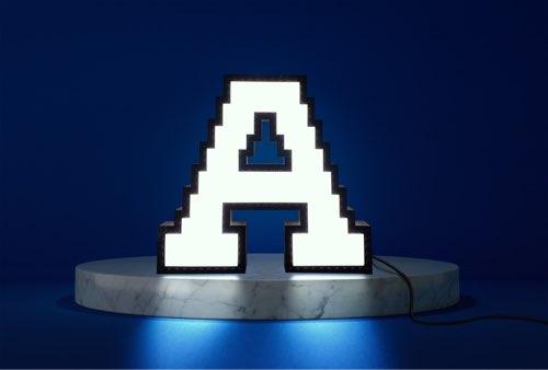 WLWYB LEGO Lighting Letter A lightened up