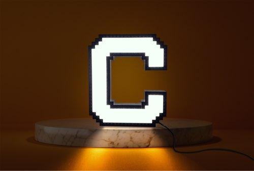 WLWYB LEGO Lighting Letter C lightened up