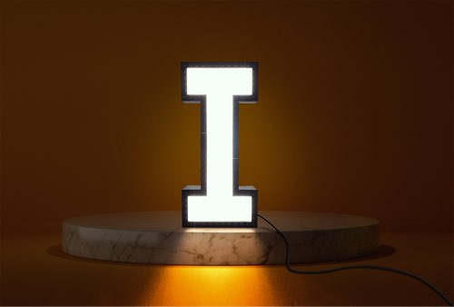 WLWYB LEGO Lighting Letter I lightened up