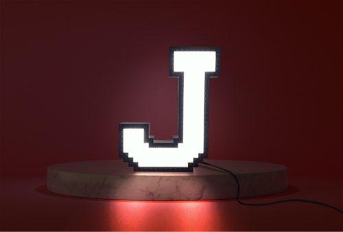 WLWYB LEGO Lighting Letter J lightened up