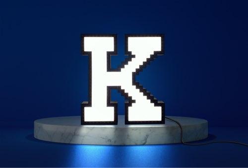 WLWYB LEGO Lighting Letter K lightened up