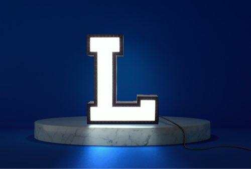 WLWYB LEGO Lighting Letter L lightened up