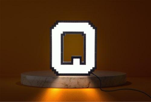 WLWYB LEGO Lighting Letter O lightened up