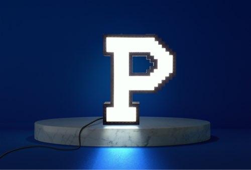 WLWYB LEGO Lighting Letter P lightened up