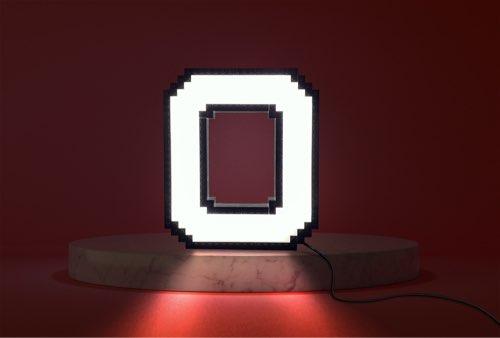 WLWYB LEGO Lighting Letter Q lightened up