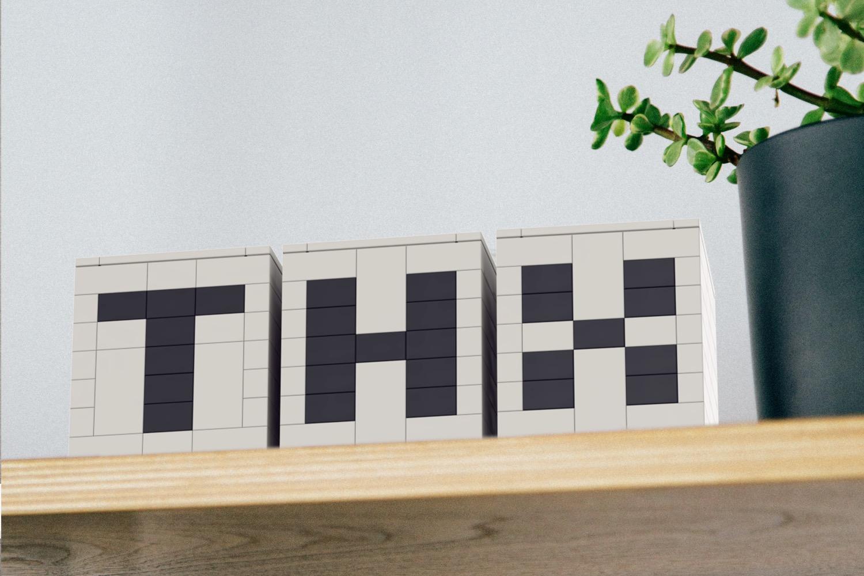 WLWYB Digit Cube WORDS