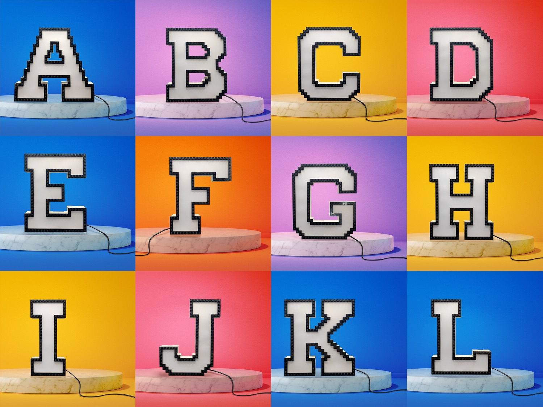 Ambient Light LEGO Letters thumbnail